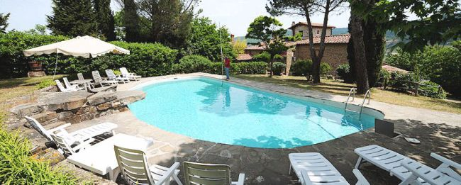 chianti  farmhouse vacation rental
