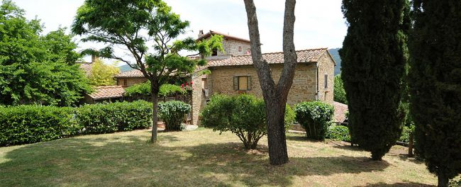 Casa al Monte di Sopra Tuscan farmhouse holiday accommodation