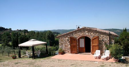 Tuscany holiday cottage in the Chianti Classico wine territory.