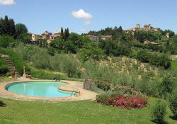 Hotel swimming pool Tuscany