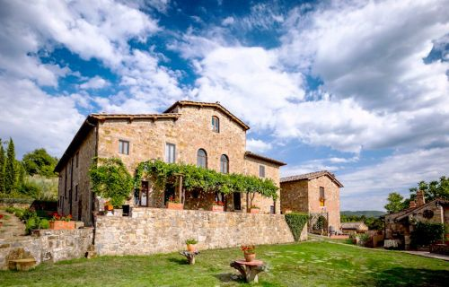 Podere Felceto holiday villa in Tuscany