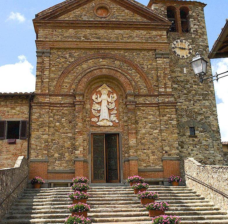 Church of Santa Maria at Panzano in Chianti