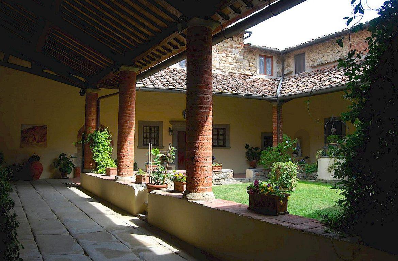 Pieve di San Leolino at Panzano in Chianti