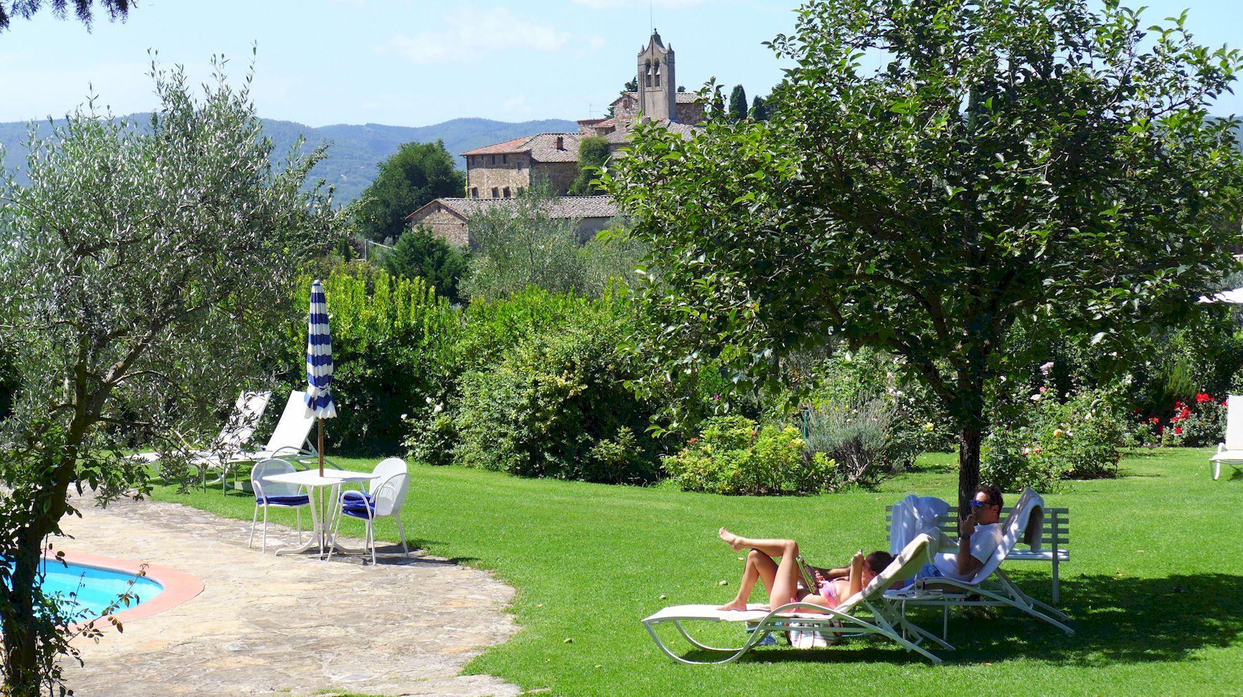 Villa Le Barone Tuscany