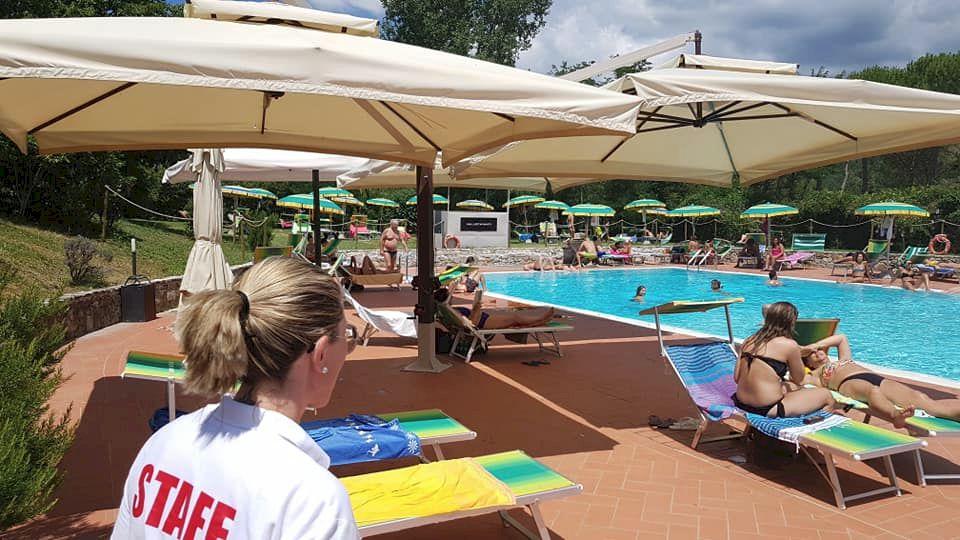 Greve in Chianti public swimming pool