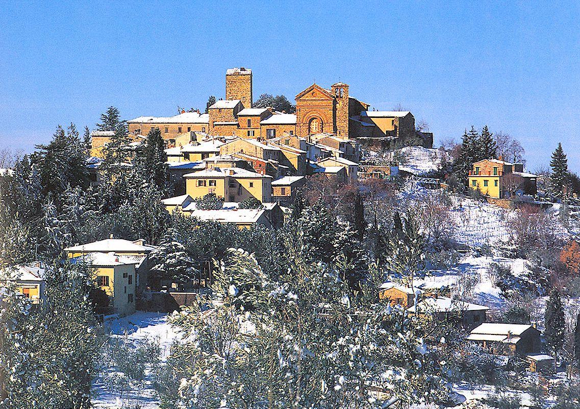 Panzano in winter