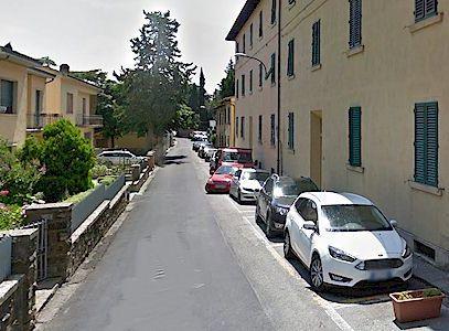 Panzano street map