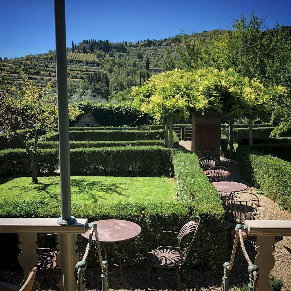 Villa Bordoni garden