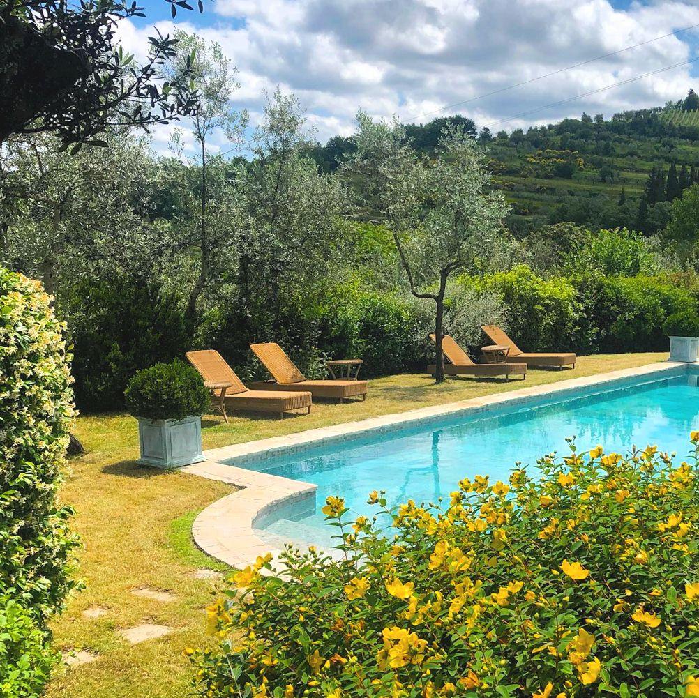 Villa Bordoni pool