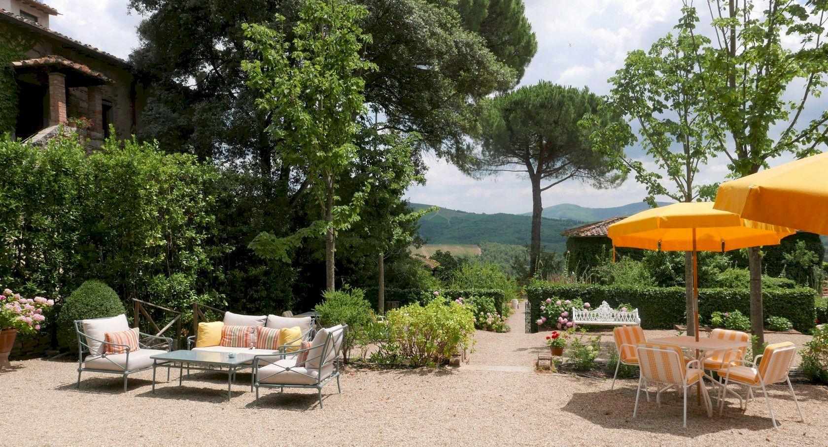 Villa Le Barone luxury hotel Panzano