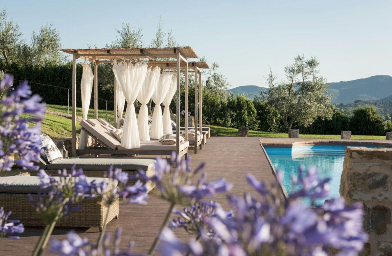 Vitigliano Relais & Spa classic luxury vacation villa at Panzano in Chianti