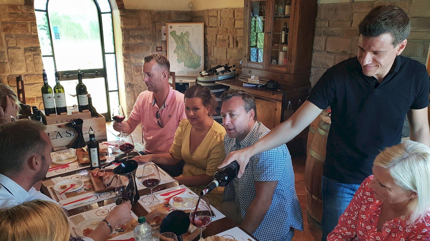 Sergio Ceccherini Scenic Wines Tours in Tuscany