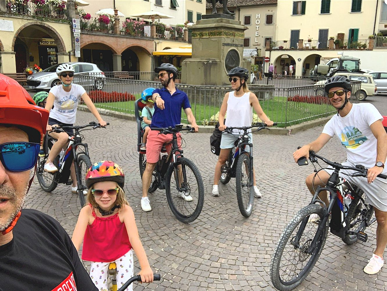 eBike tour In Chianti