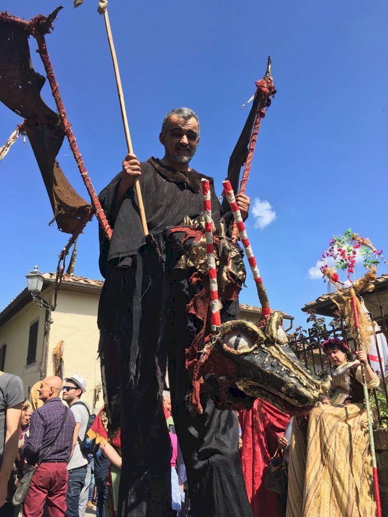 Festival of the Stagion Bona at Panzano in Chianti