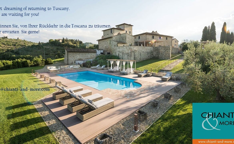 Chianti vacation rental agency