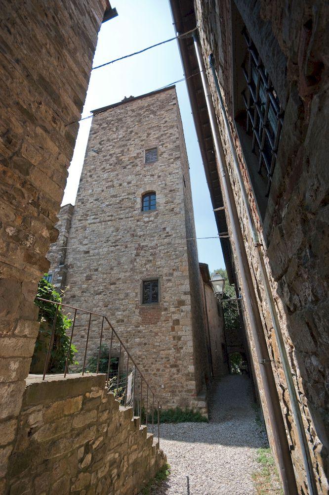 Castle of Panzano main tower
