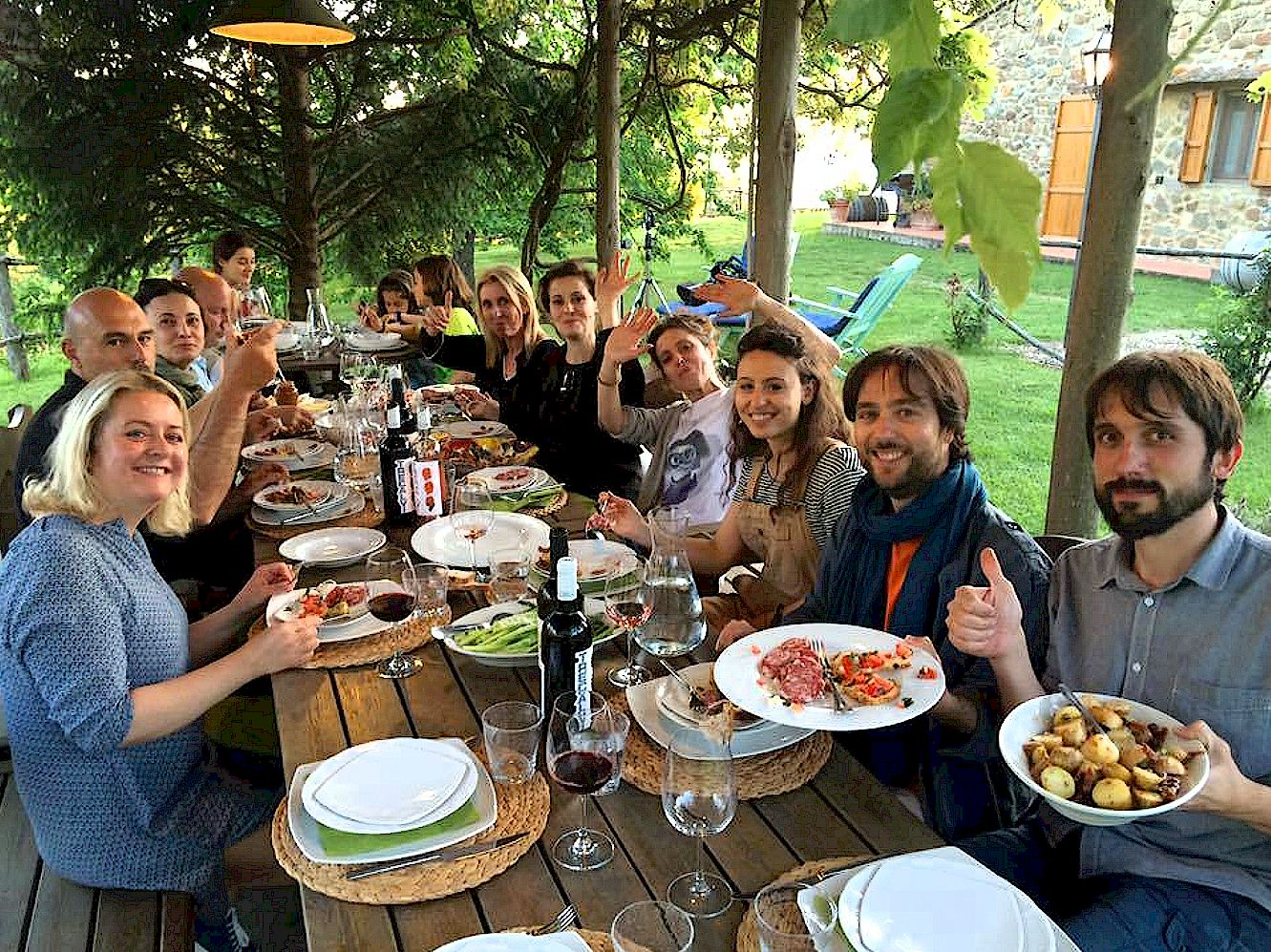 Catered dinner at your accommodation In Tuscany