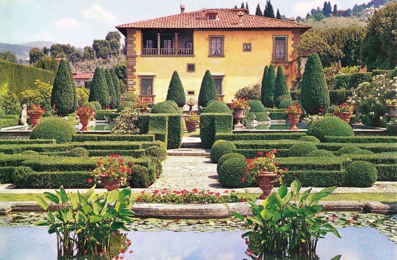 Visit the gardens of Villa Gamberaia