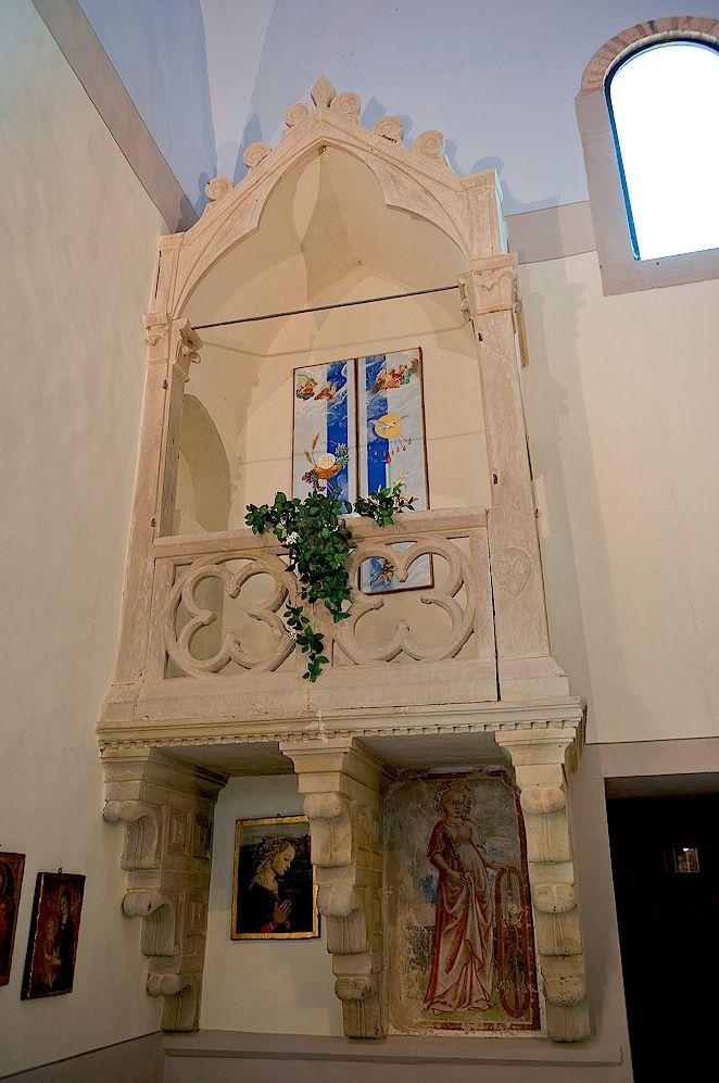 Gothic Tabernacle San Euphrosio