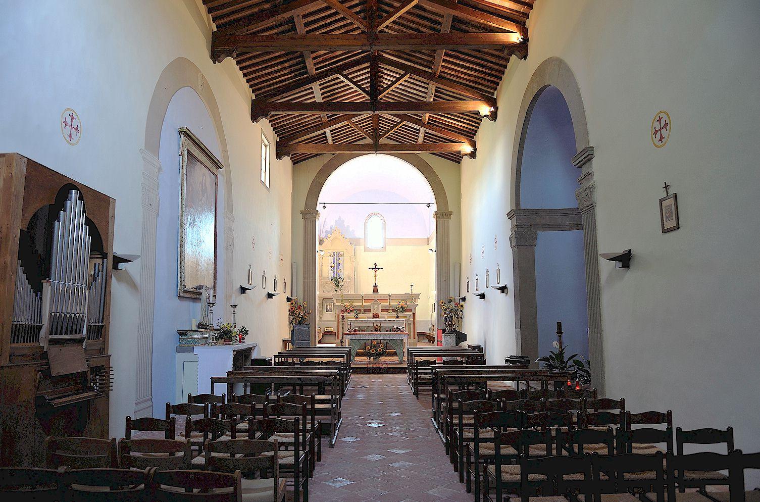 Oratorio di Sant' Eufrosino interior