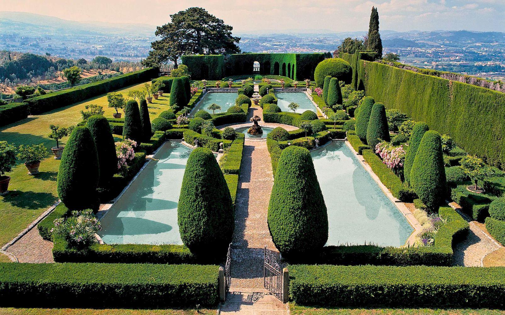 Villa Gamberaia garden visit